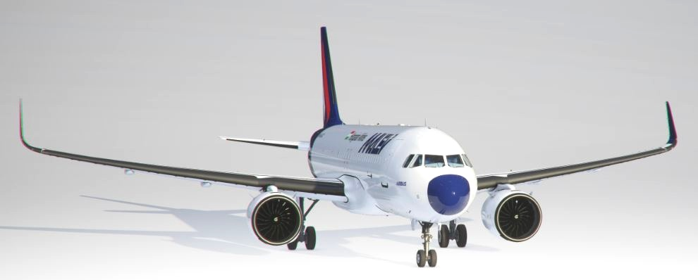 MALEV Airbus a320neo