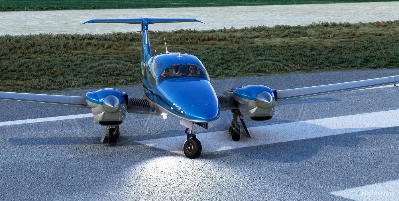 DA62X Improvement Mod Flight Simulator 2020