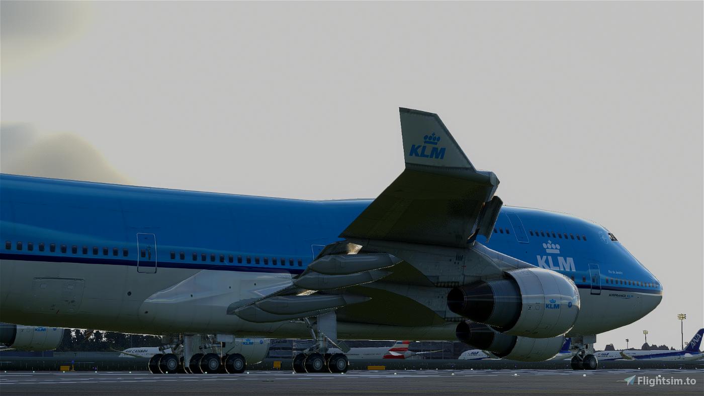 Boeing 747-400 KLM