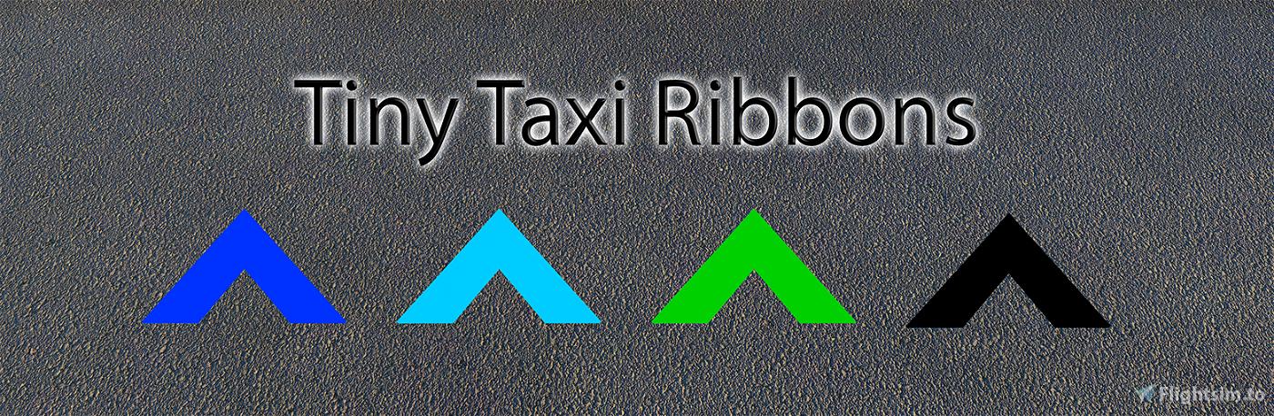 Tiny Taxi Ribbons Microsoft Flight Simulator