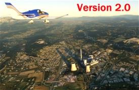 Centrale Thermique de Gardanne Version 2.0 Microsoft Flight Simulator
