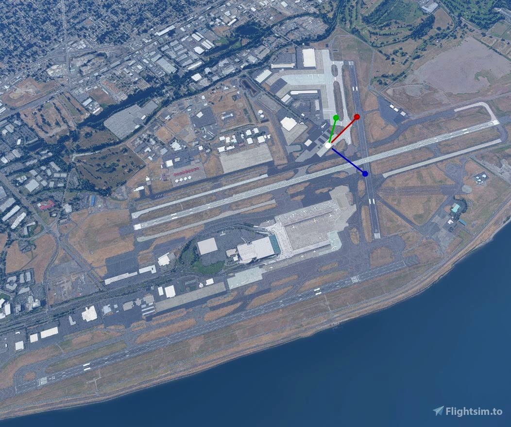 Portland International Airport - KPDX - Taxiway and Runway Glitches Remover Flight Simulator 2020