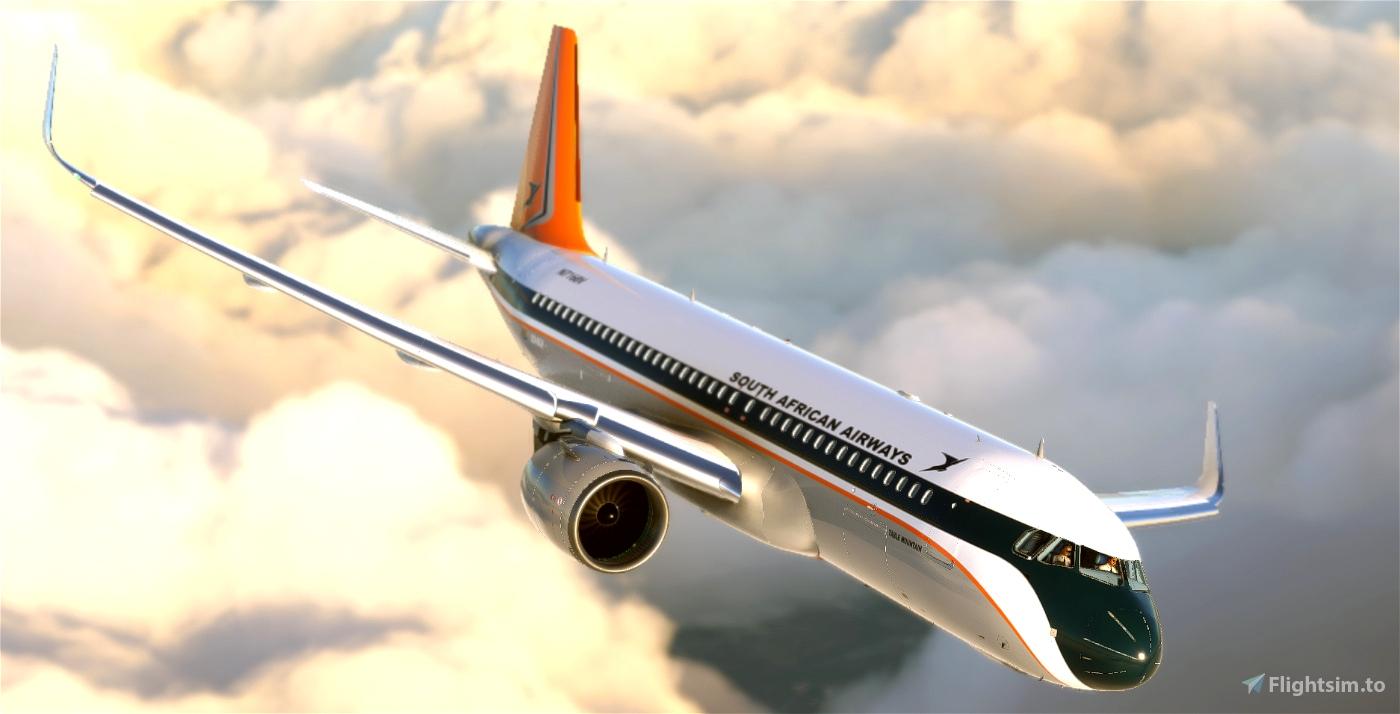 South African Airways Retro 1 Flight Simulator 2020