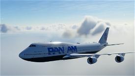 B747-8 Pan Am World Airways [8K] Image Flight Simulator 2020
