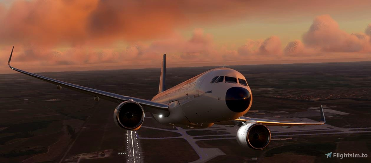 MALEV Airbus a320neo  Flight Simulator 2020