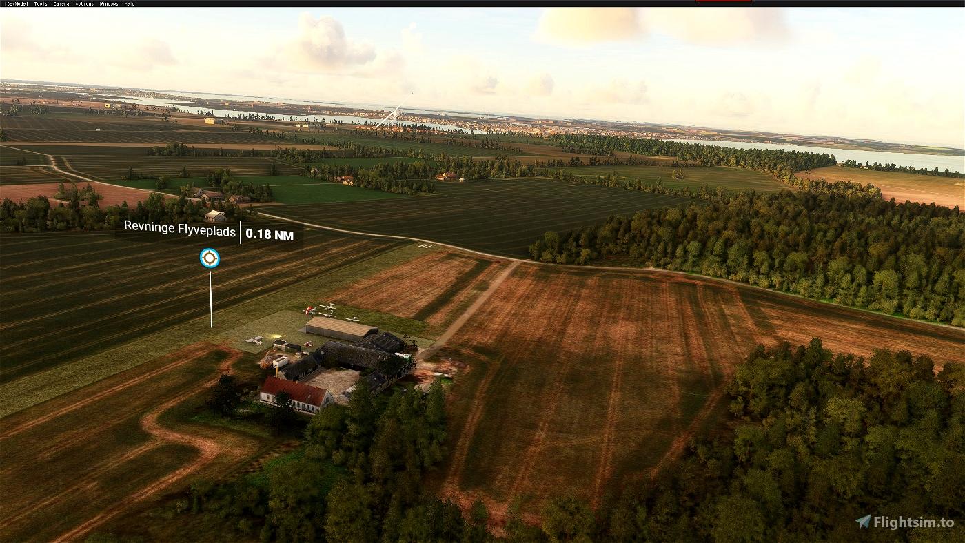 Revninge Airfield Flight Simulator 2020