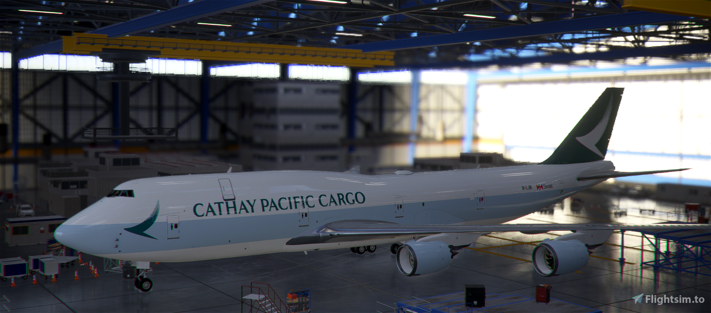 B747-8F Cathay Pacific Cargo [8K]