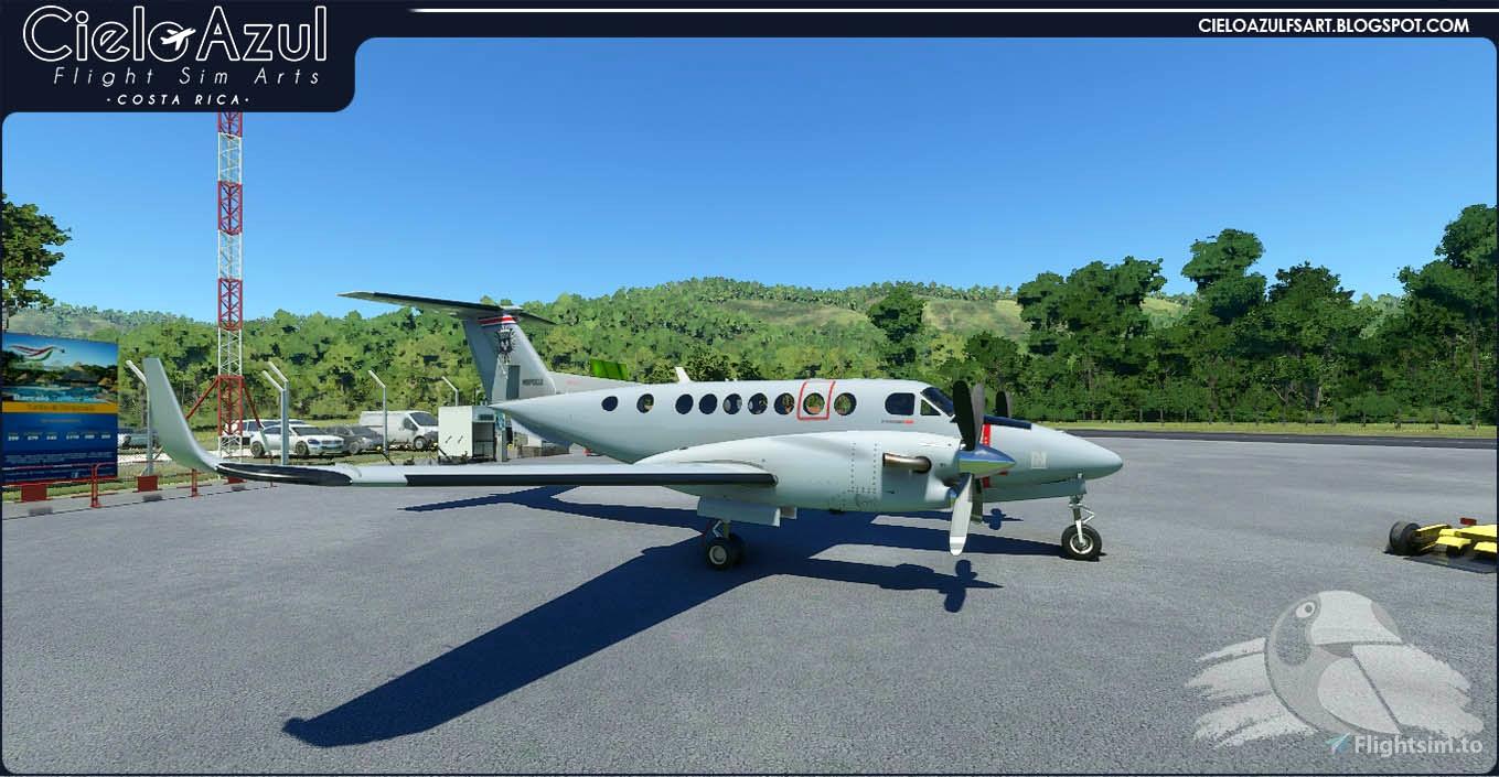 Costa Rica Police | MSP002 | Asobo Beechcraft King Air 350i (8K) Flight Simulator 2020