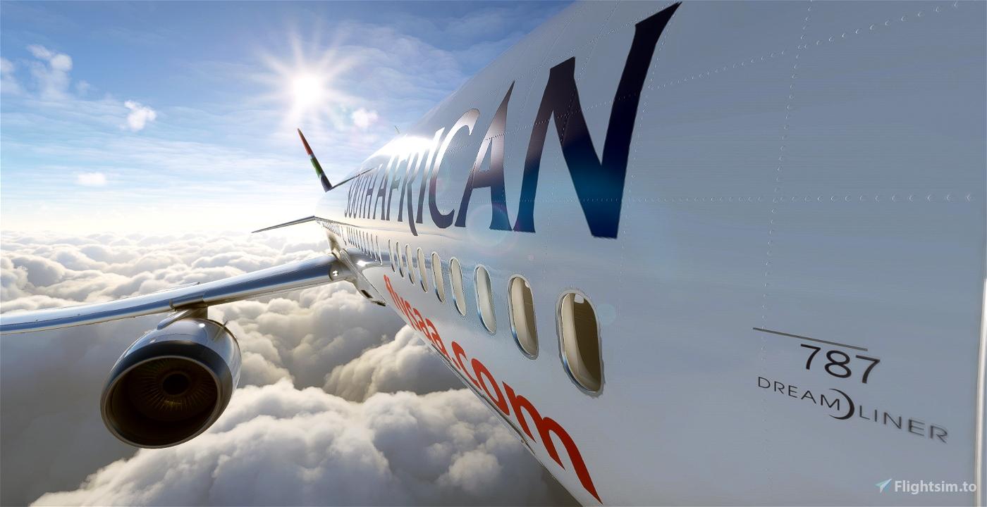 Boeing 787-10 South African Airways  Flight Simulator 2020