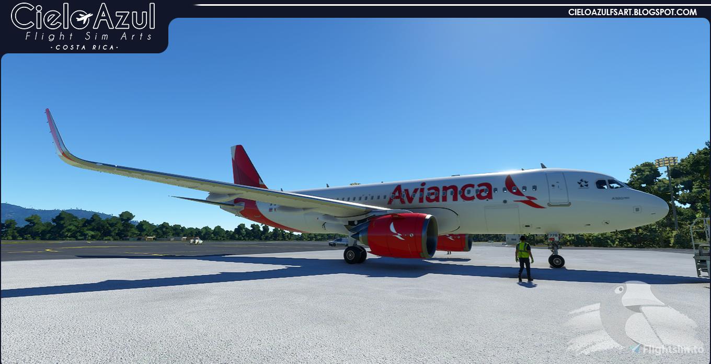 Avianca | N776AV | Asobo Airbus A320neo (8K)