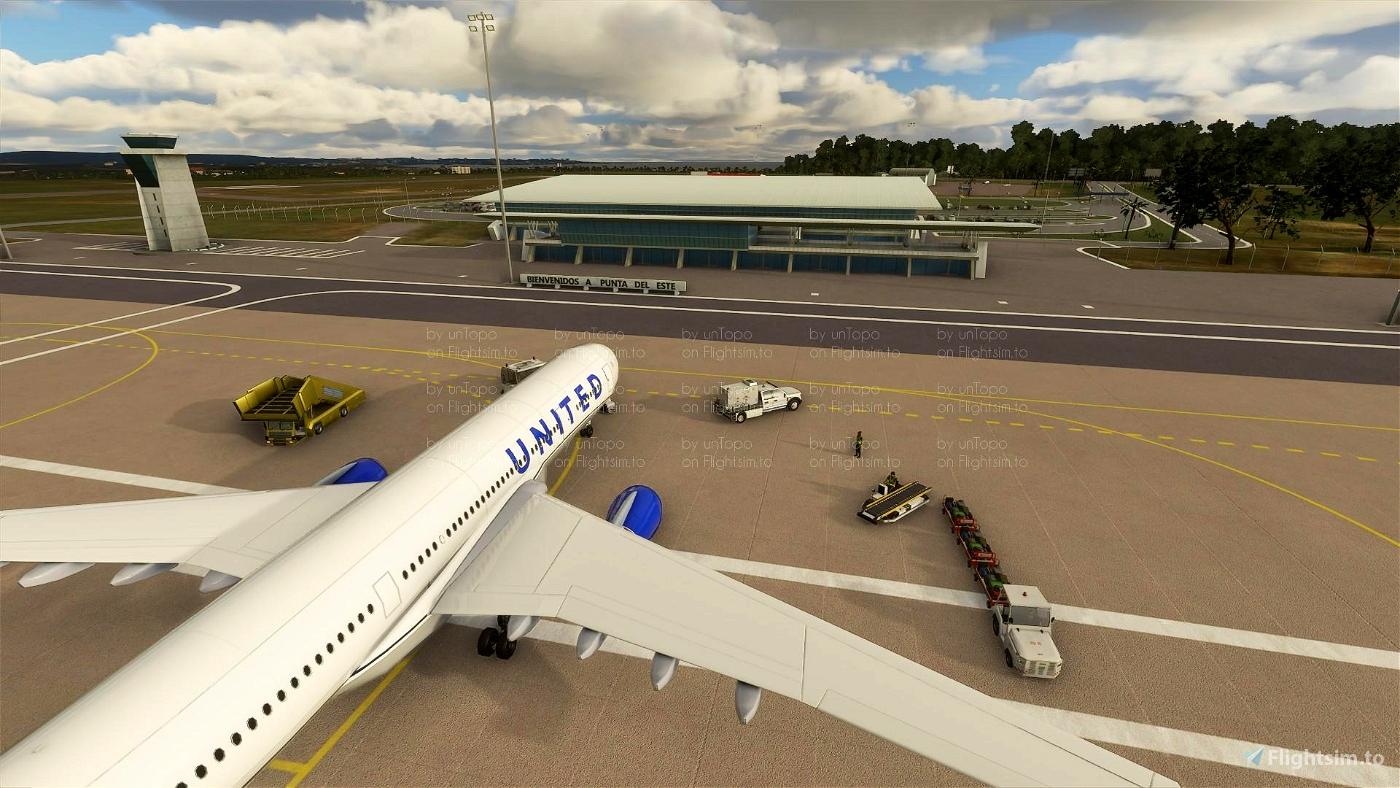 Aeropuerto Internacional Laguna del Sauce - SULS - Punta del Este - Maldonado, Uruguay
