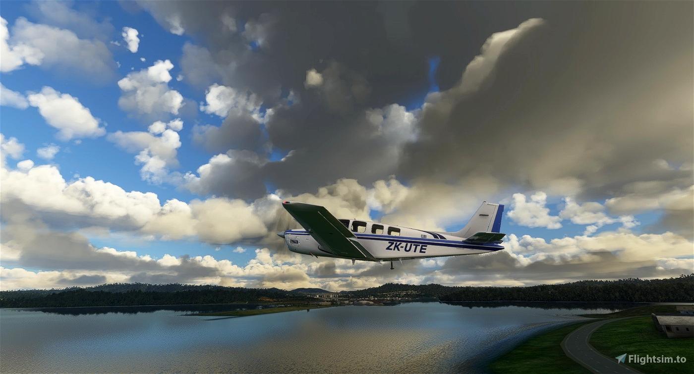Beechcraft G36 Bonanza ZK-UTE Flight Simulator 2020