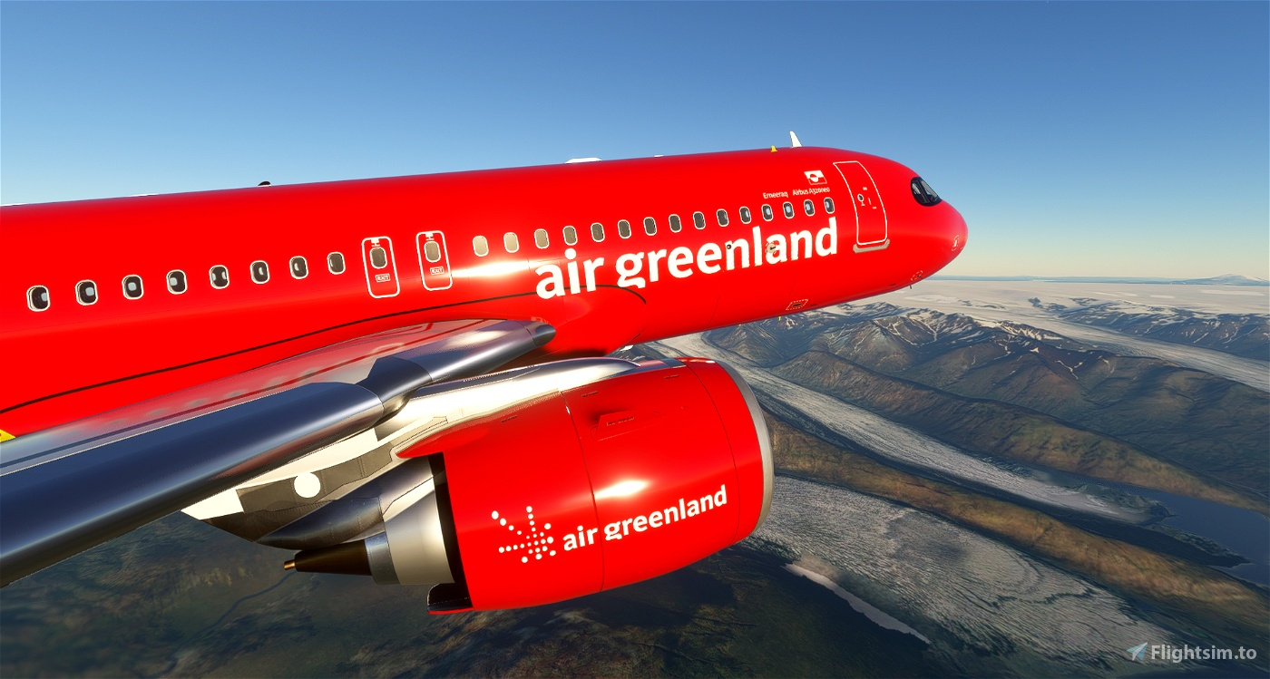 Air Greenland - 8K Flight Simulator 2020
