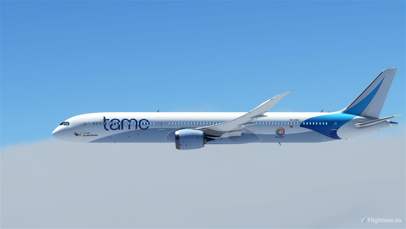 Tame Ecuador (8k) Flight Simulator 2020