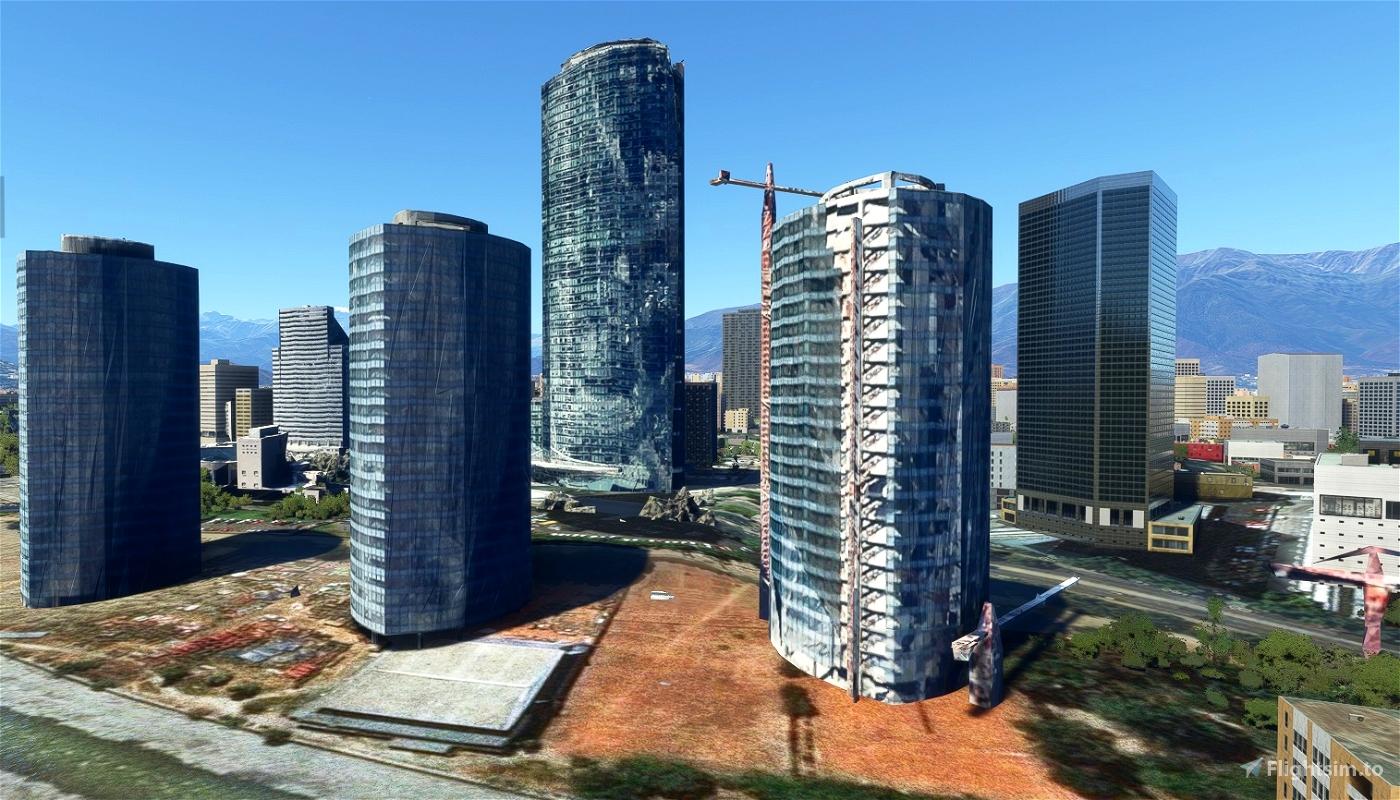 Paque Titanium , 3 torres - Santiago - Chile