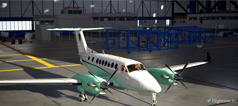 R&M Airservice Europe AG (FTW) Liverie Flight Simulator 2020