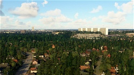 Høje Gladsaxe Microsoft Flight Simulator