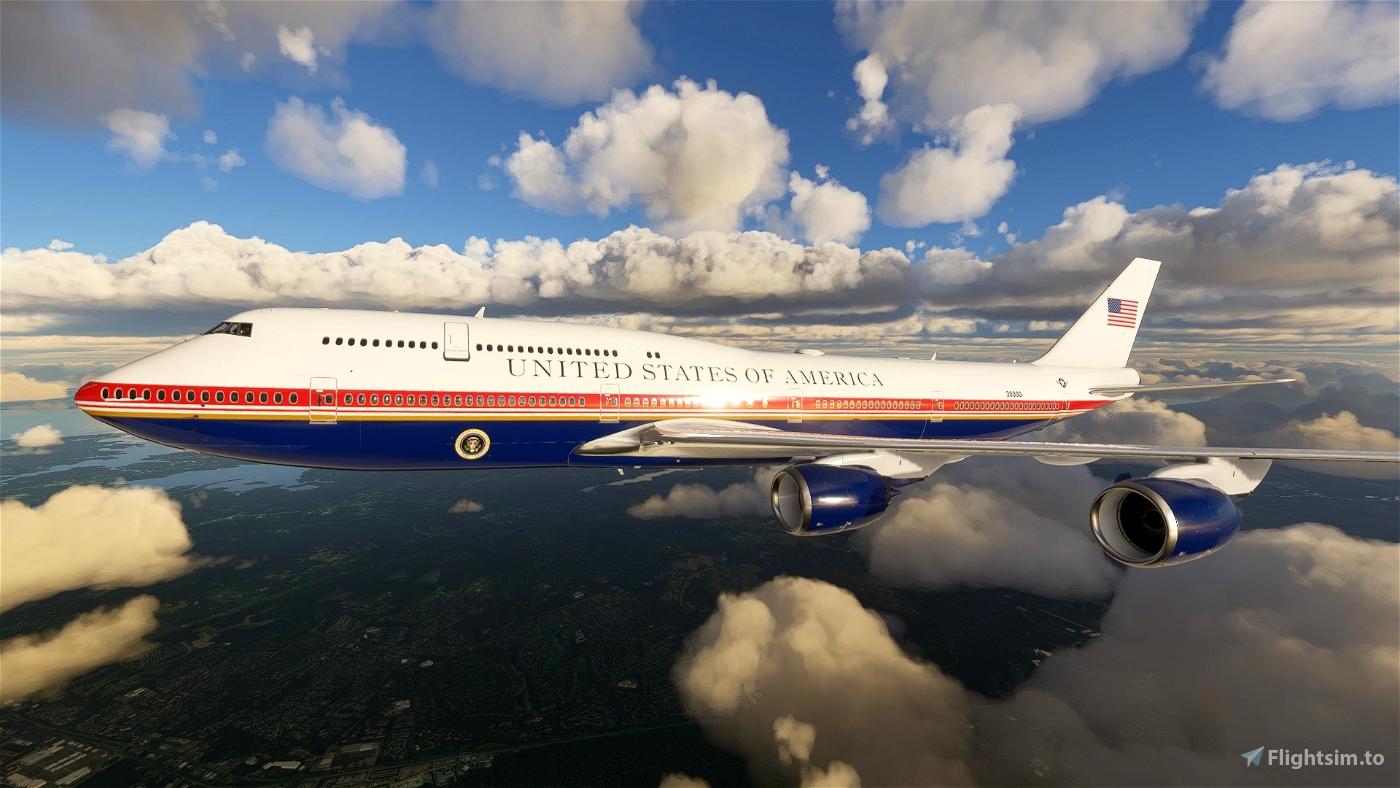 Trump's Air Force One Flight Simulator 2020