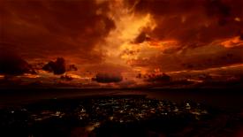 Halloween Creepy Weather Preset Microsoft Flight Simulator