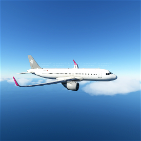 Sundair A320N Livery 4K Image Flight Simulator 2020