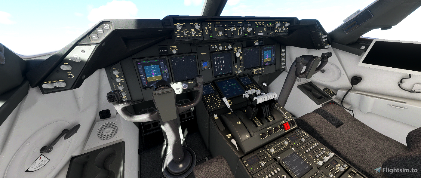 [v1.1] Boeing 747-8 French Air Force (Grey Cockpit)