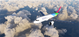 A320 Eritrean Airlines 6k Image Flight Simulator 2020