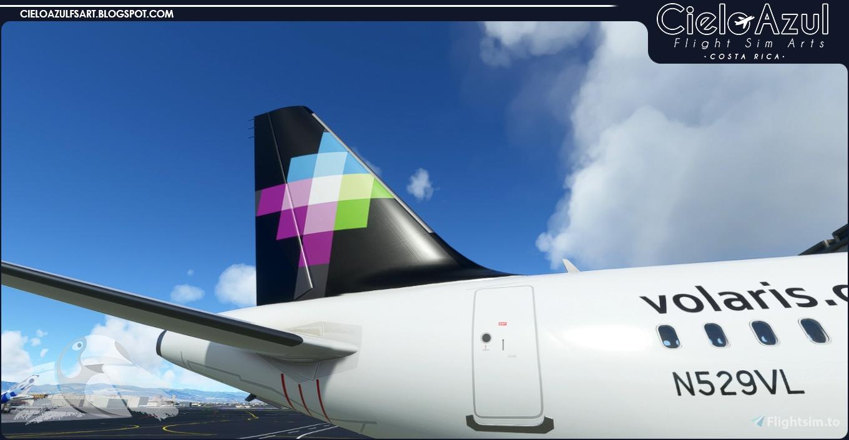 Volaris   N529VL & N538VL   Asobo Airbus A320neo (8K)