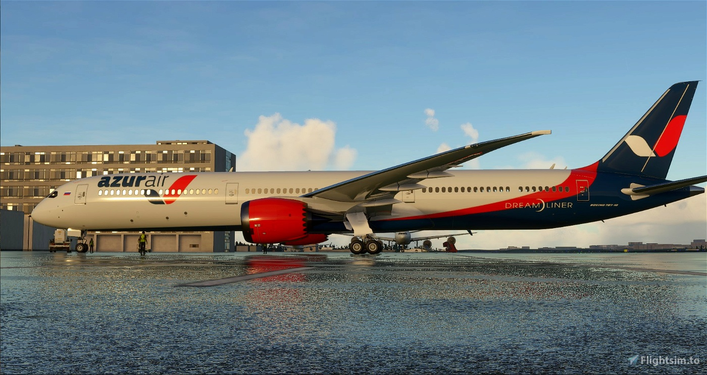 Boeing 787-10 Azur Flight Simulator 2020