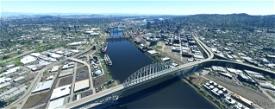 Portland OR Bridges V1.3 Microsoft Flight Simulator