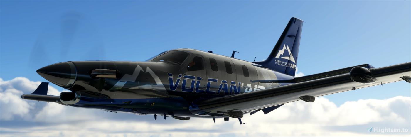 VOLCAN AIR TBM930 Flight Simulator 2020
