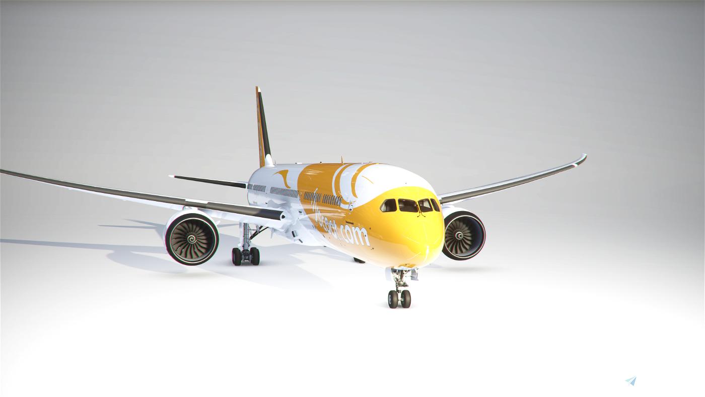 Boeing 787-10 Scoot 9V-OJE Flight Simulator 2020