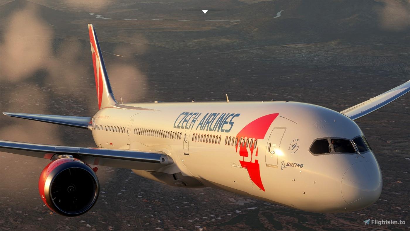 Boeing 787-10 CSA (Czech Airlines)  Flight Simulator 2020