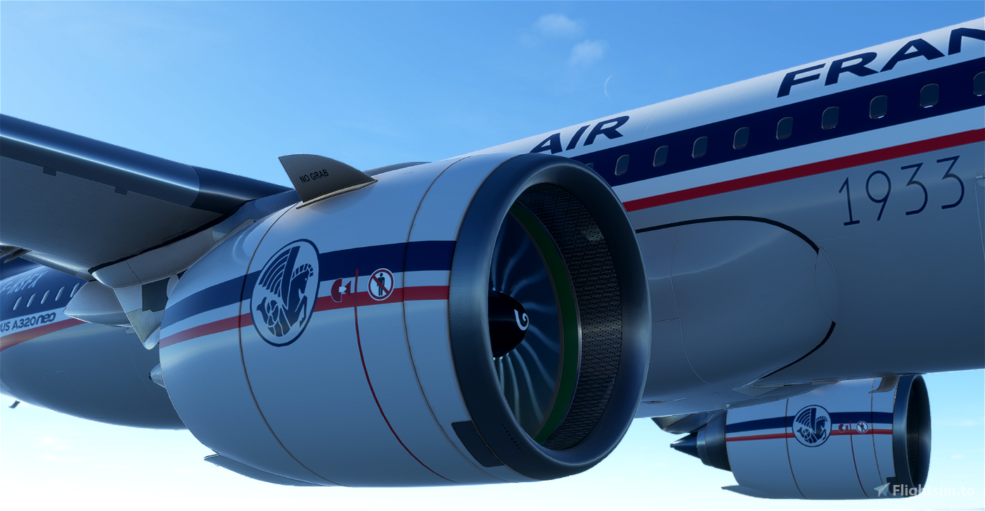 A320neo 90th AIR FRANCE Anniversary