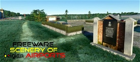EBBT Brasschaat airfield, Belgium Microsoft Flight Simulator