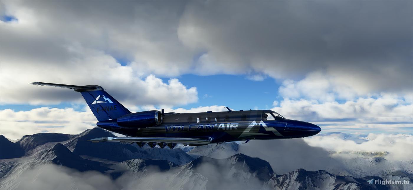 VOLCAN AIR CITATION CJ4