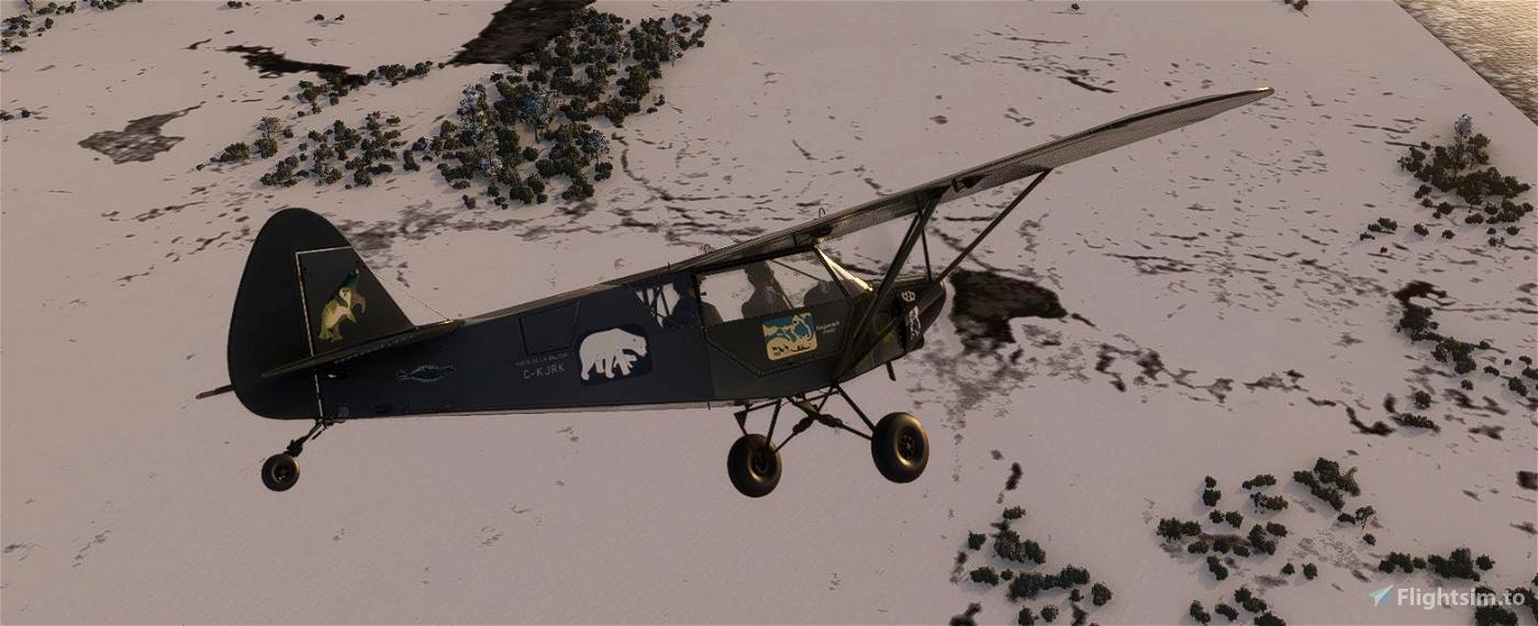 Savage Cub C-KJRK Poste-de-la-Baleine v2.0 (Compatible 1.12.13.0)