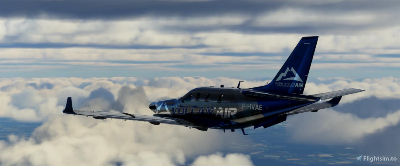 VOLCAN AIR TBM930