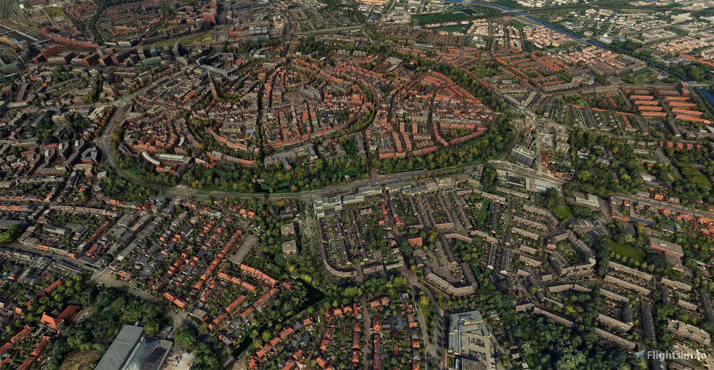Amersfoort - City Image Flight Simulator 2020