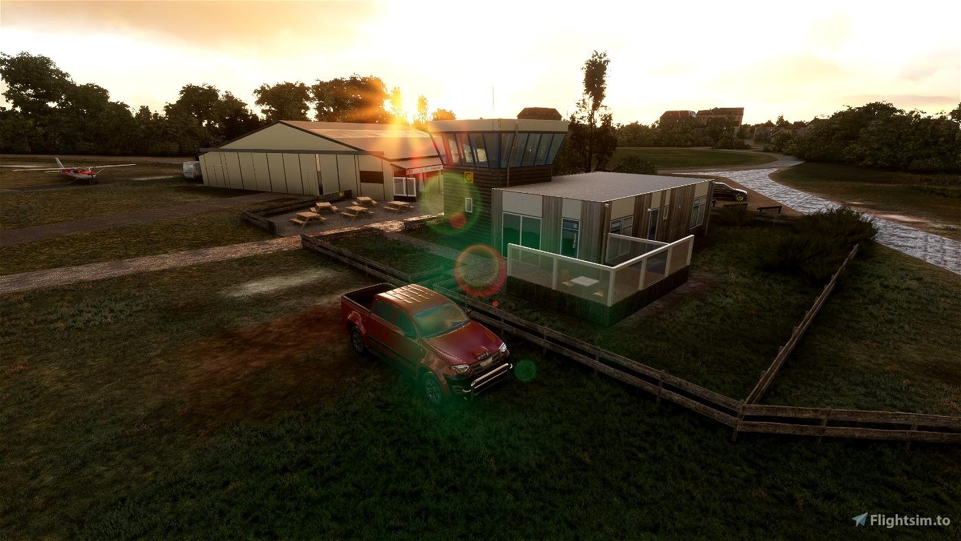 Ameland Airport (EHAL) Flight Simulator 2020
