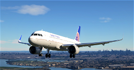 United Airlines A320neo 8K Textures  Image Flight Simulator 2020