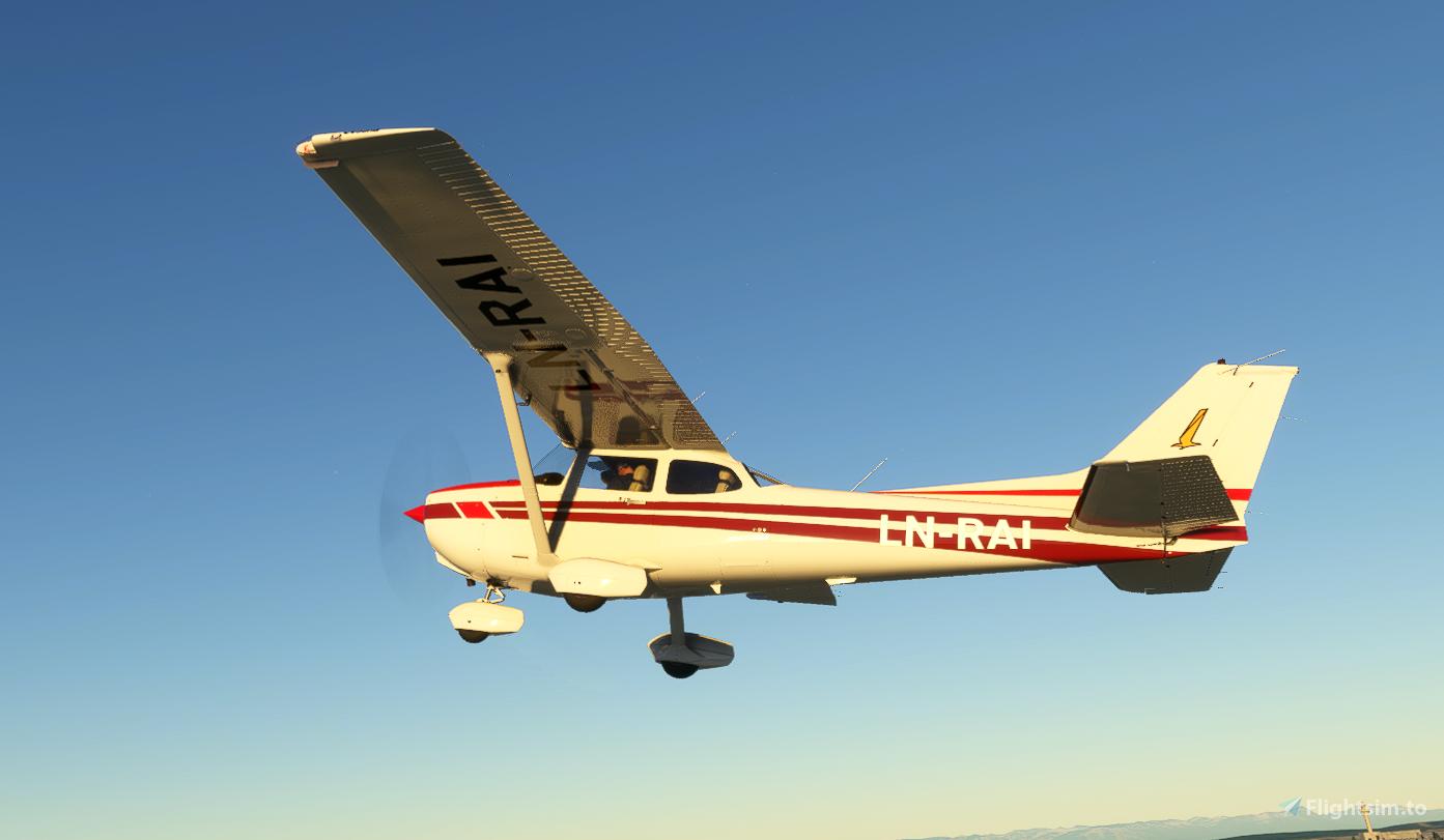 LN RAI Norwegian C172N