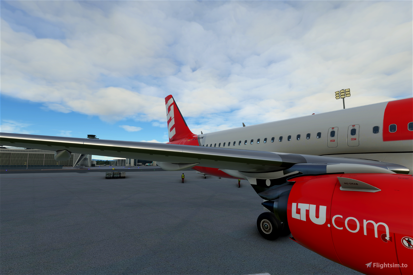 Airbus A320neo LTU (Revised livery)