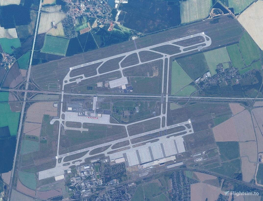 Runway and Taxiway glitch Fix for EDDP (Leipzig/Halle) Flight Simulator 2020
