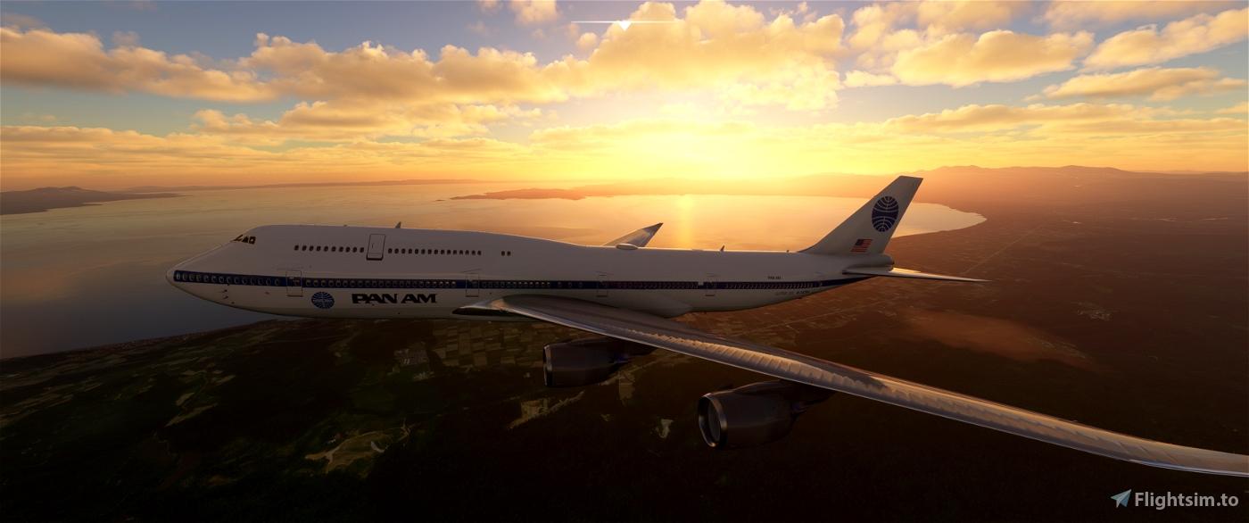 B747-8i PAN AM Flight Simulator 2020