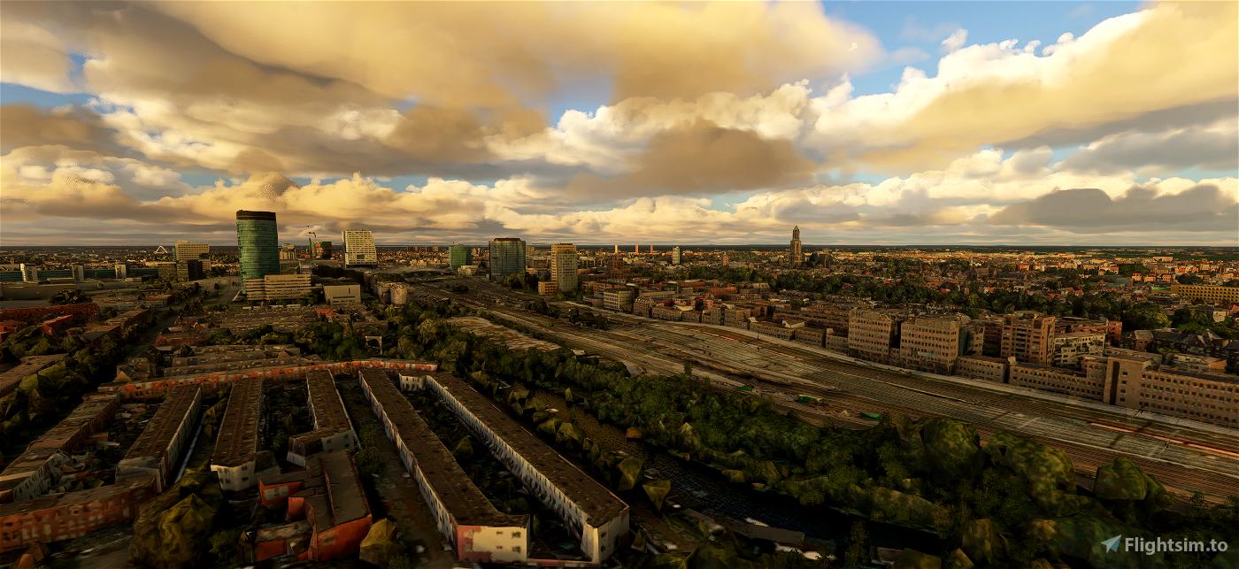 Utrecht - City Image Flight Simulator 2020