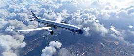 B787 BOAC   8K Image Flight Simulator 2020