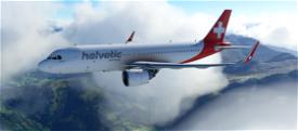 A320neo HELVETIC AIRWAY Image Flight Simulator 2020