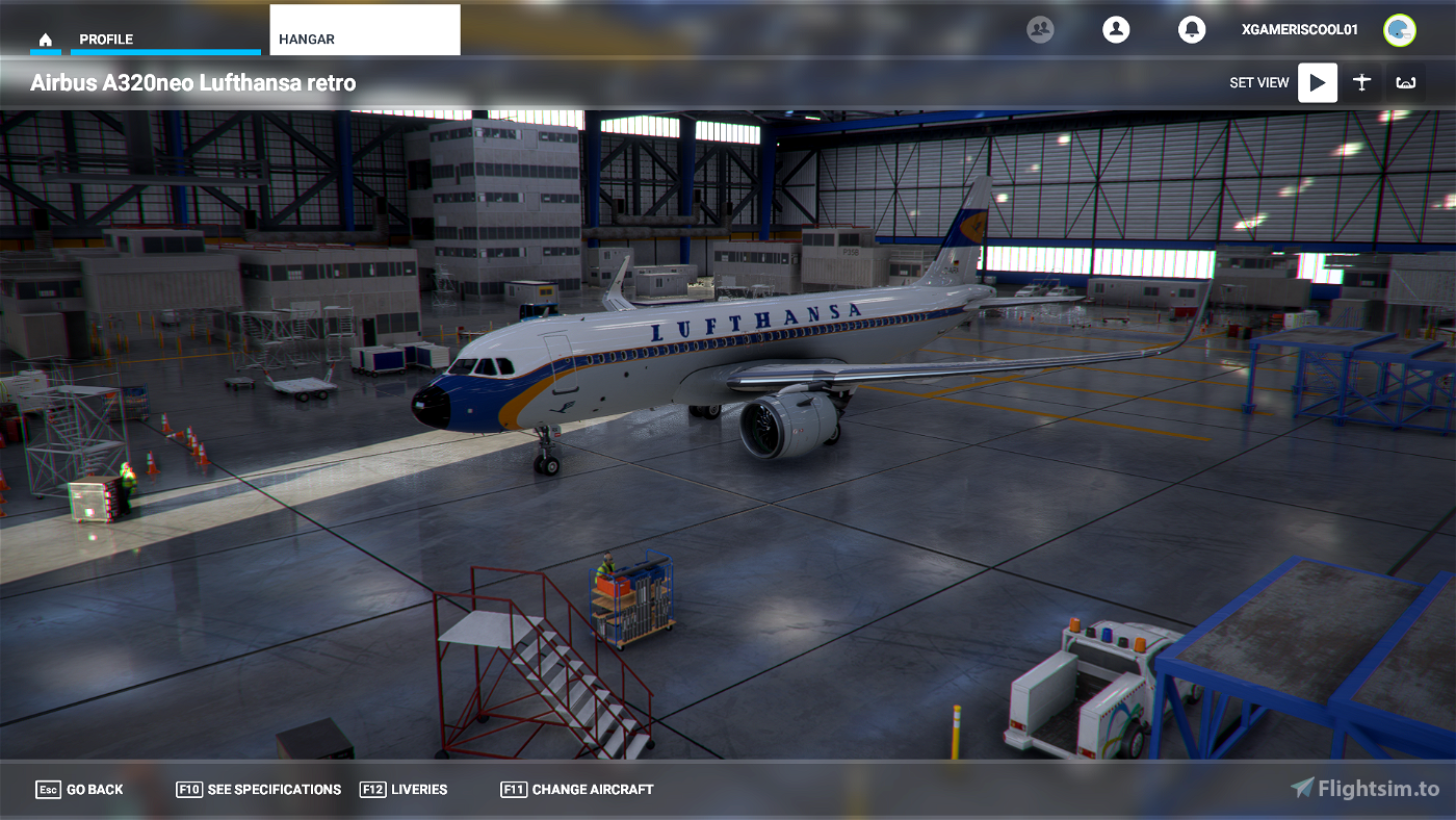 The 8K liveries Megapack for the a320 (and for other aircraft in the future)