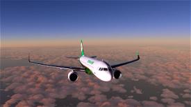EVA Airlines New Pattern Image Flight Simulator 2020