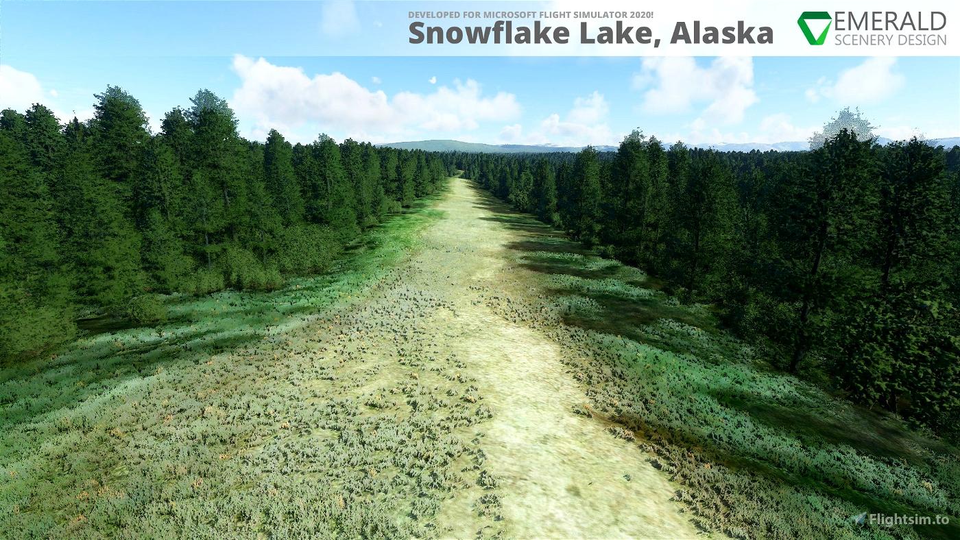 Snowflake Lake & Airstrip, Alaska